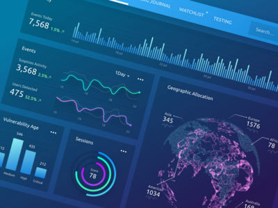 Web Application Security home charts inspiration experience security design ui ux infographics dashboard analytics