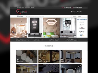 Severus.hr ui website css html custom template e-commerce webshop acf advanced custom fields zurb foundation wordpress woocommerce