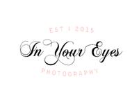 In Your Eyes - simple elegant logo
