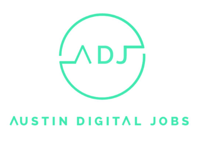 Logo | Austin Digital Jobs  graphic design texas austin creative company start-ups tech groups networking logo design branding design logo