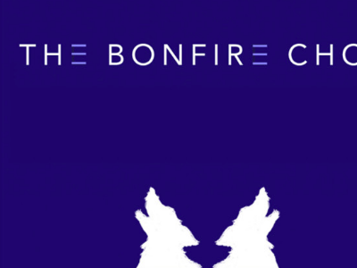 Logo | The Bonfire Choir sxsw wolf cd design album design texas austin bands musicians creative company branding graphic design logo design