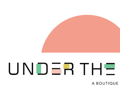 UNDER THE SUN | Logo Process lifestyle public relations texas austin creative company branding graphic design logo design