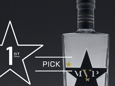 MVP Vodka | Website +Videos + Photos sports photography ux ui webdesign html5 video dallas cowboys nfl football booze alcohol vodka