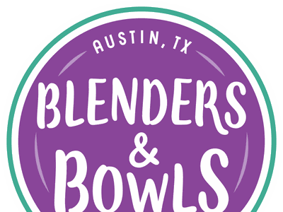Blenders & Bowls Logo logo design branding graphic design