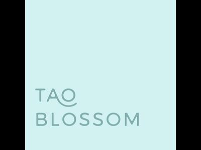 Tao Blossom Branding x Animation illustration graphic logo design branding design logo creative company graphic design