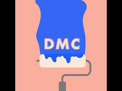DMC Paint Roller branding design animation texas austin creative company illustration graphic design