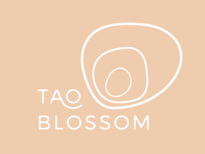 TAO Blossum // Acupuncture Brand graphic typography austin branding creative company graphic design identity animation illustration austin texas website design logo design branding agency branding design