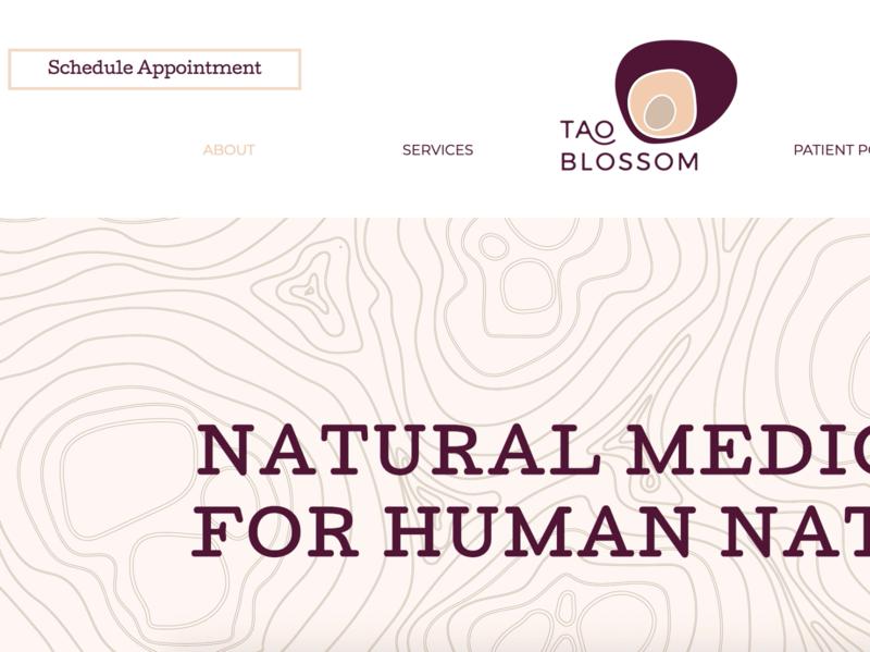 TAO Blossum // Website