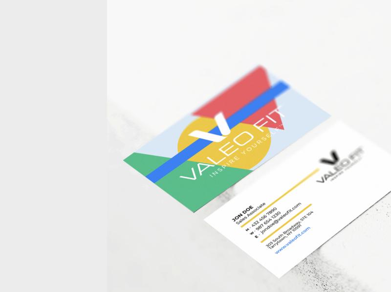 Valeo Fit // Business Cards