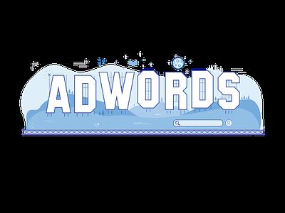 Google Ads - Illustration creative brackets flat creative google adwords googleads illustration