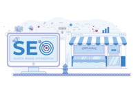 Seo - Search Engine Optimization - Illustration