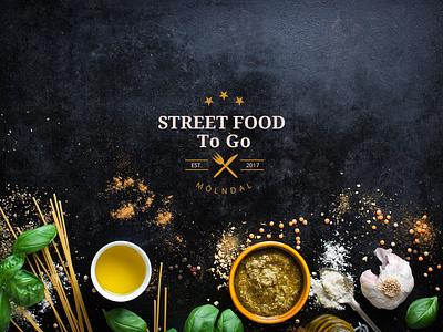 Street Food - Logo logo design creative brackets logo 3d food street food logo