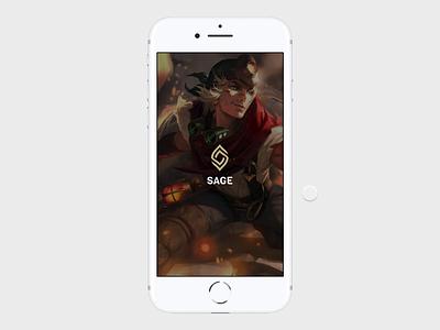 League of Legends app computer gane video game ezreal league of legends mobile app ios app mobile app figma prototype prototype gaming gaming app mobile design interaction design clean