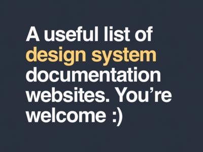 Design system documentation system design design systems resource product design styleguide spec website design system