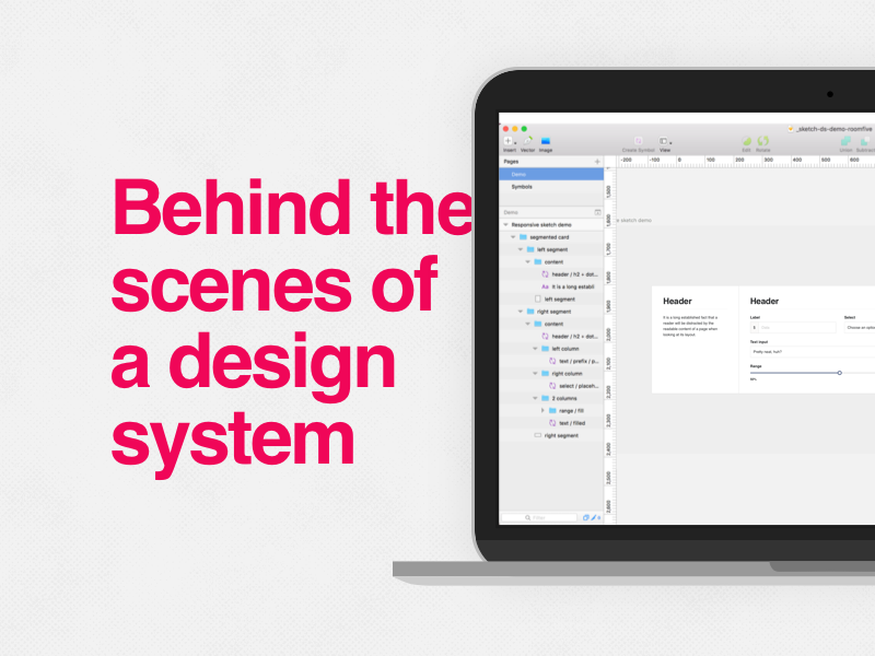 Behind the scenes of a design system system sketchapp design system product design resource google doc tutorial howto process