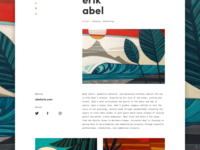 Surf artist profile