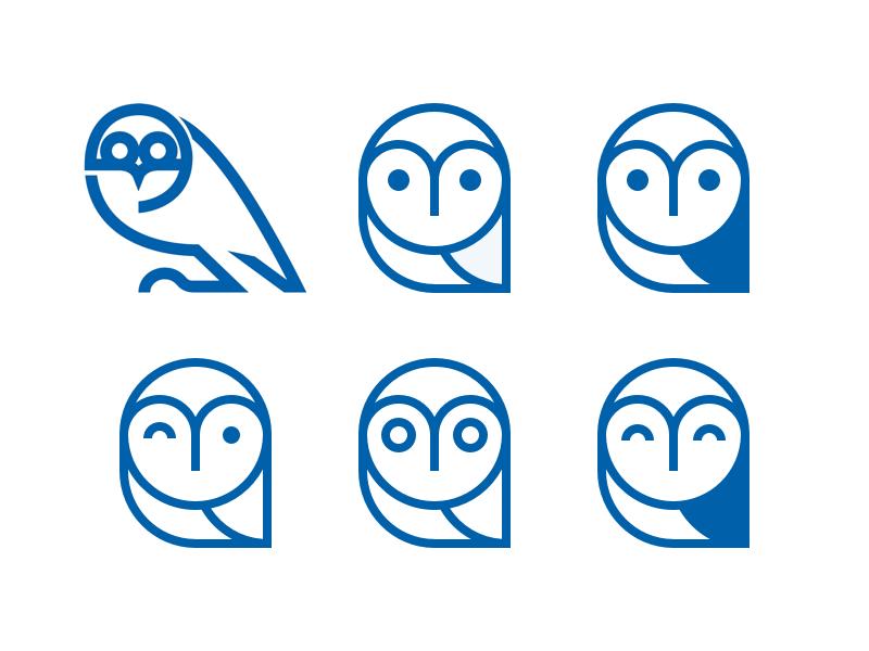 Owl brand mark (Waddle) soccer football illustration brand mark logo logomark identity owl sheffield wednesday swfc branding