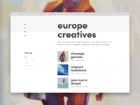 Creatives by Region