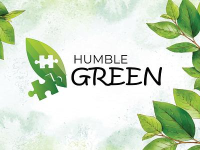 humble green: logo logo graphic design vector logo design illustration design icon branding app