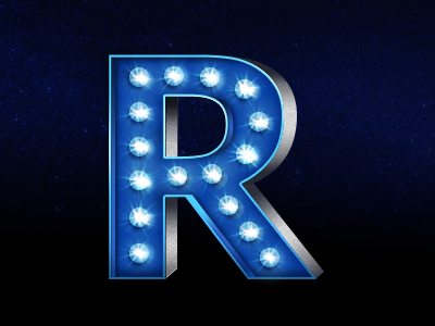 Ruskin logo dribbble stars