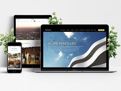 Property Development Lead Gen Website - OROS Oakleigh responsive website css html ux web design ui