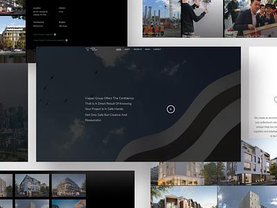 Property Developer - Website websites website ux design ui