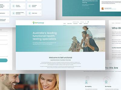 BeFunctional Labs - eCommerce Website css html website ecommerce design ecommerce branding logo design web ui ux ux ui web design