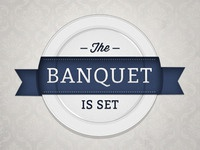 The Banquet is Set Logo