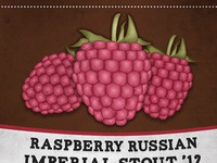 Raspberry Russian Imperial Stout