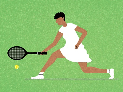156 racket lady woman swing running tennis ball tennis