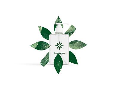 Grenn Bamboo brand identity green logo leaf organic bamboo green design logotype logo brands branding