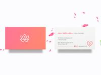 AllUNeedisYOGA Business Cards