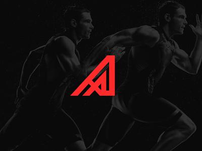 Azteca Branding sports logo sportswear sports azteca aztec branding agency brand identity black monogram minimalism logotype logo brands branding