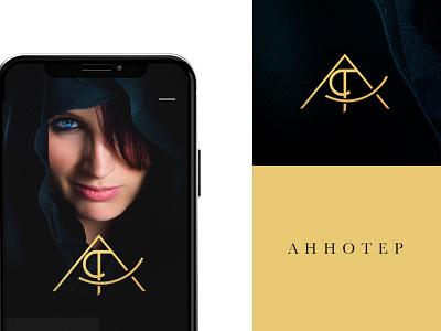 AHOOTEP BRANDING egypt branding agency brand business design monogram minimalism logotype logo brands branding