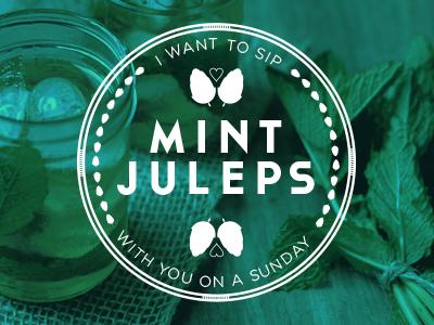 Mint Juleps