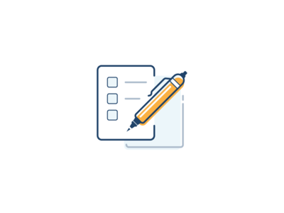 Fill Out the Form Icon