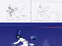 Express mail drawing process