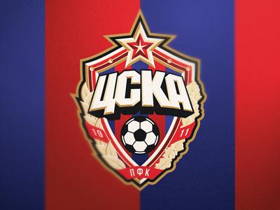 ЦСКА football logo