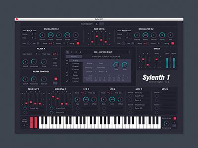 Sylenth1 redesign thumb