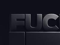 Fuck it!
