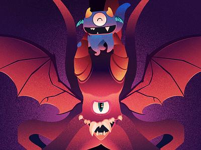 """Beasts of Hogwarts"" Sneak Peek beasts of hogwarts beasts harry potter hogwarts art show poster texture vector art vector graphic illustration illustration"
