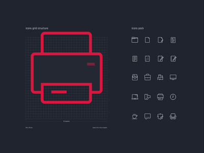 Office Icon Pack office iconography icons vector brand symbol design ui branding