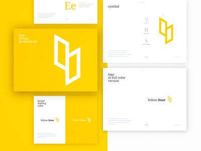 Brand mark for Yellow Door AR+ application