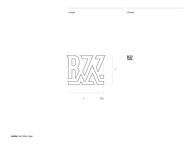 Working on ROCKZZ, a mountain biking society society mountain bike icon illustration typography black and white lettermark vector symbol branding brand logo