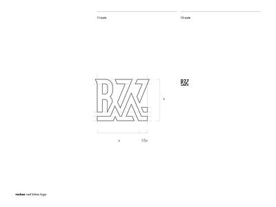Working on ROCKZZ, a mountain biking society society mountain bike icon illustration typography black and white lettermark vector symbol branding brand logo