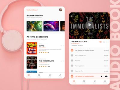 Audiobook Personalization App