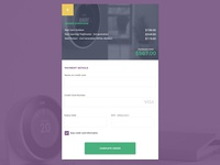 Credit Card Payment Page