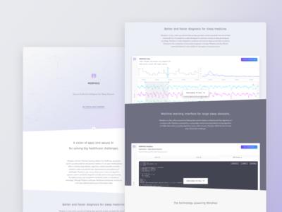 Morpheo's Website data website health sleep dreem rythm machinelearning morpheo