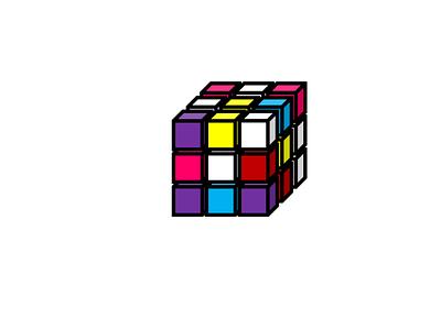 Rubik's Cube ux unsplash sketch figma rubiks cube cube illustration app design app branding logo motion graphics graphic design ui animation adobe xd adobe photoshop adobe illustrator 3d