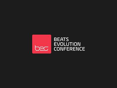 BEC Logo music conference bass dnb db drum  bass identity graphic design branding logo logo design